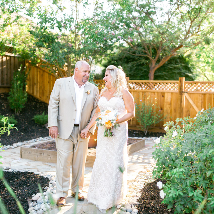 Beth & Brad -- Backyard Livermore Wedding